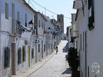 Calle casco antiguo altea
