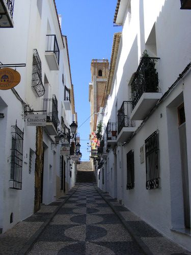 calle mayor Altea